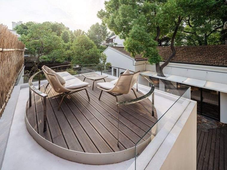 proyecto patio casa shangai