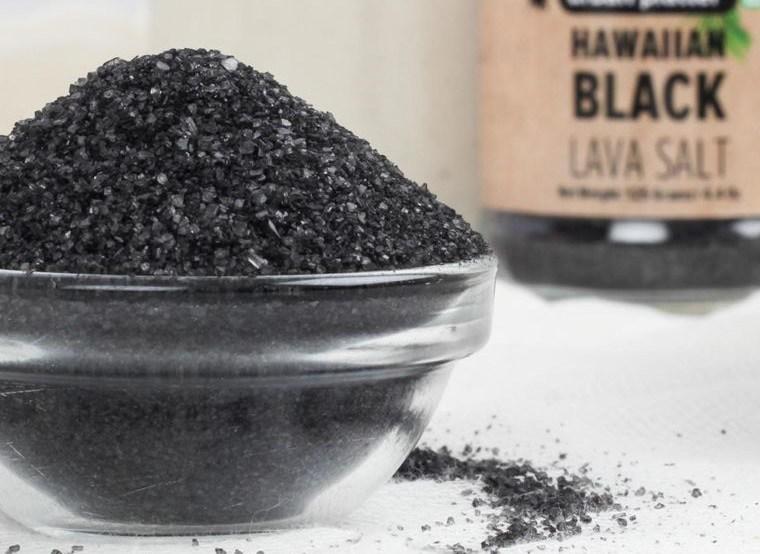 sal marina lava negra