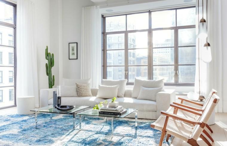 sala de esta moderna escandinavo-minimalista