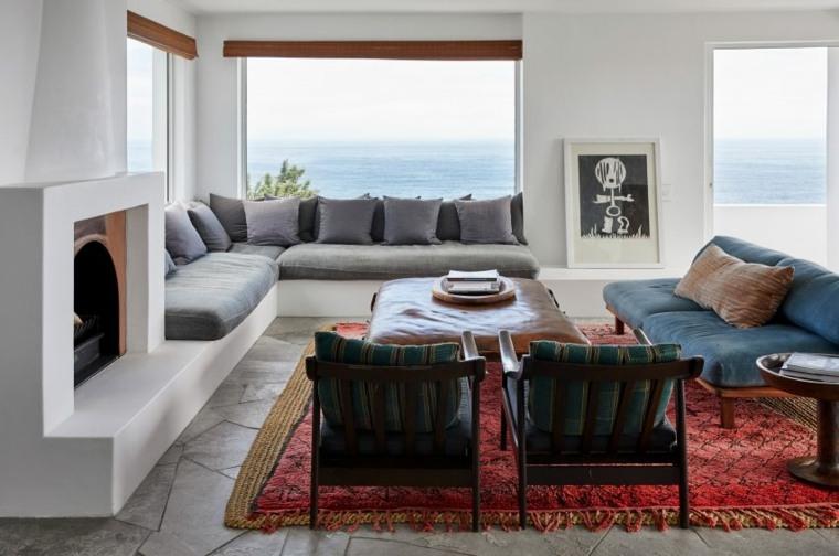 sala de esta moderna estilo-alfombra-original