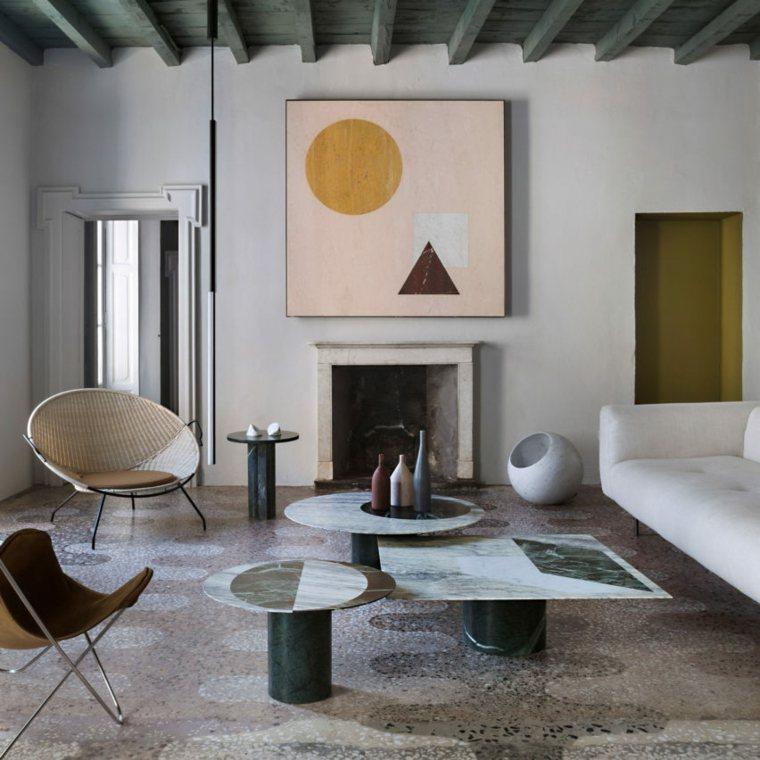 sala de esta moderna estilo-art-deco