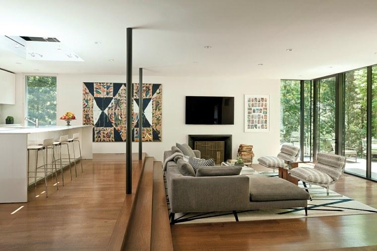 sala-de-estar-moderna-estilo-dos-niveles