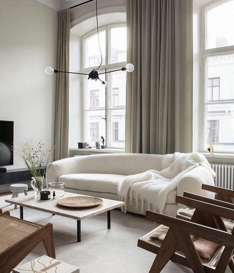 Sala de estar moderna opciones-diseno-estilo