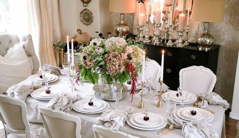 salón comedor decoracion tradicional otoño