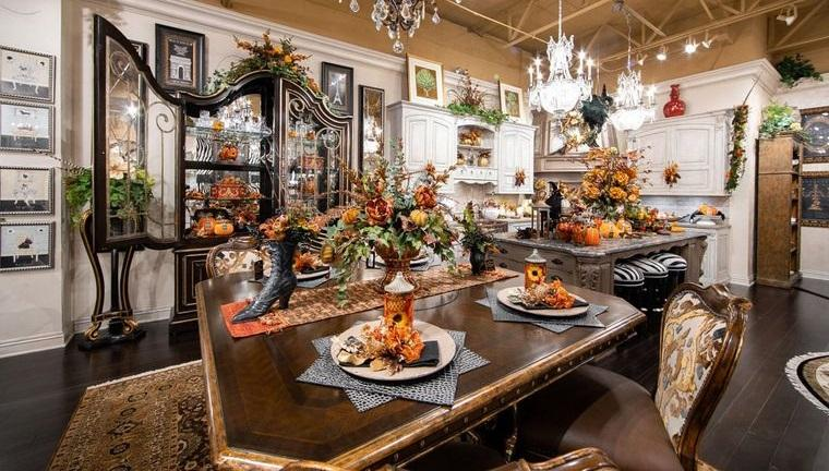 salón comedor otoño hermoso