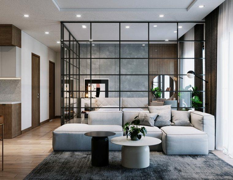 sofa-gris-sala-moderna