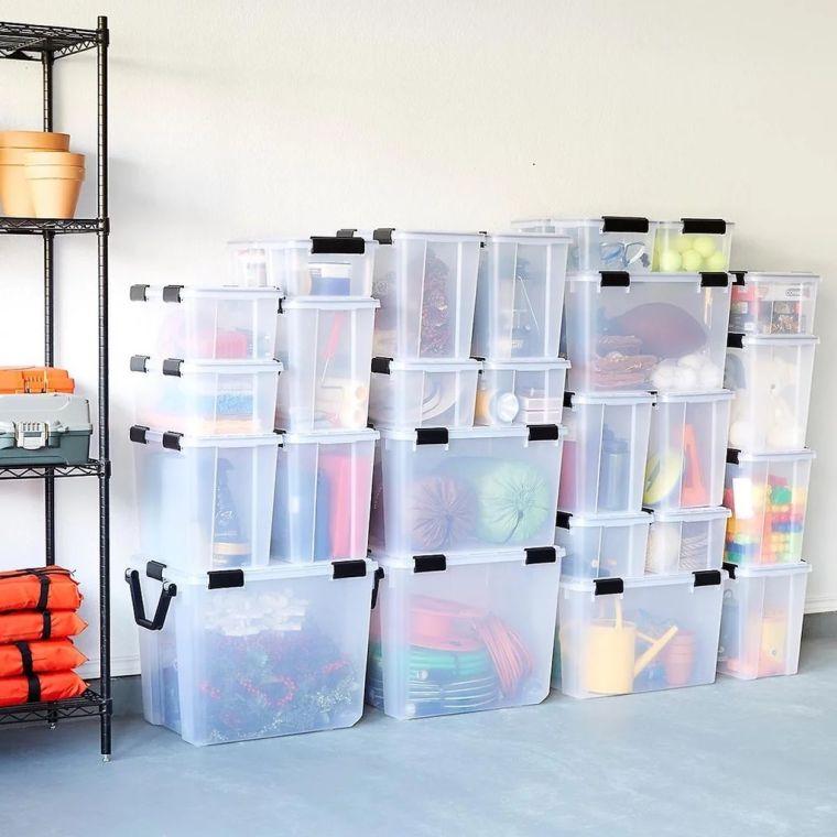 plastic-boxes-organize-garage