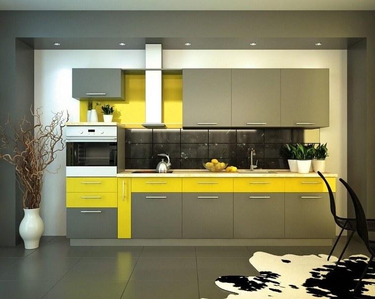 cocina-estilo-opciones-decorar-amarillo