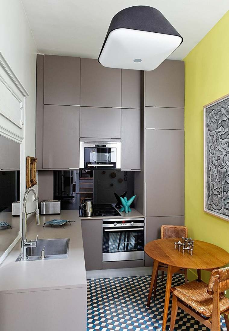 cocina-pared-color-amarillo-estilo