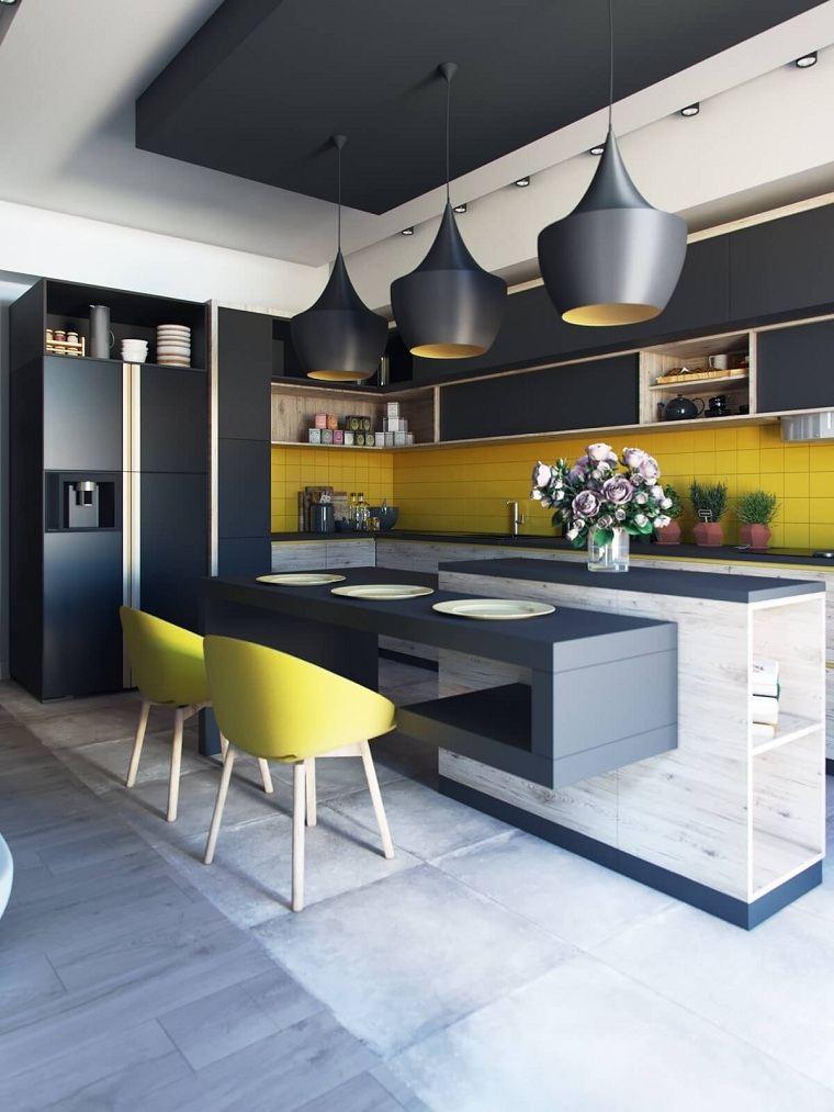 cocinas-negro-amarillo-estilo-original