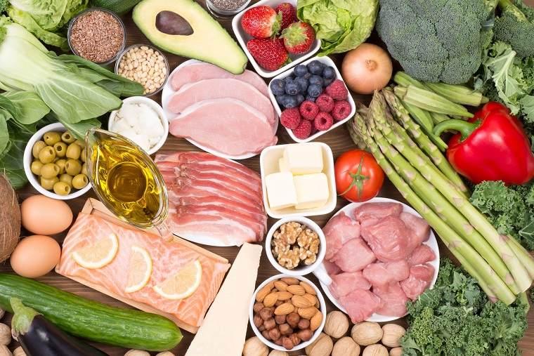 comida keto-alimentos-frutas-verduras