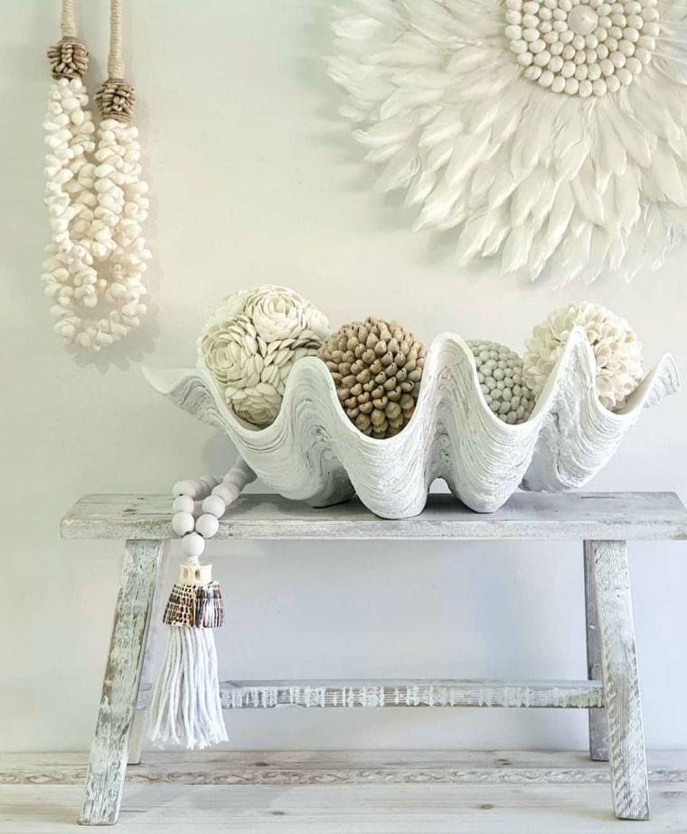 conchas marinas accesorios decorativos