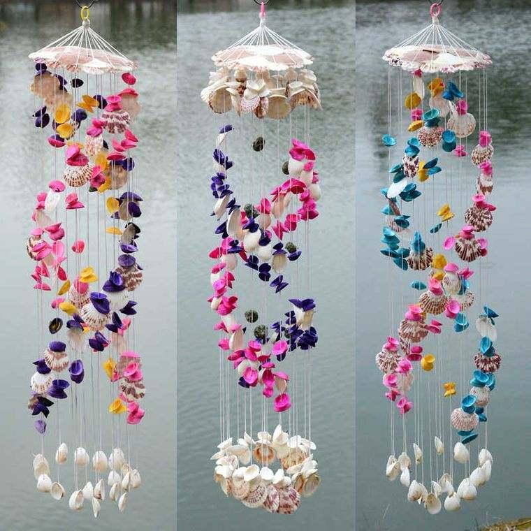 conchas marinas artesania