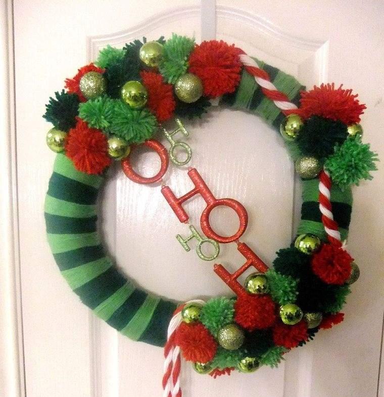 corona hilo colres navideños