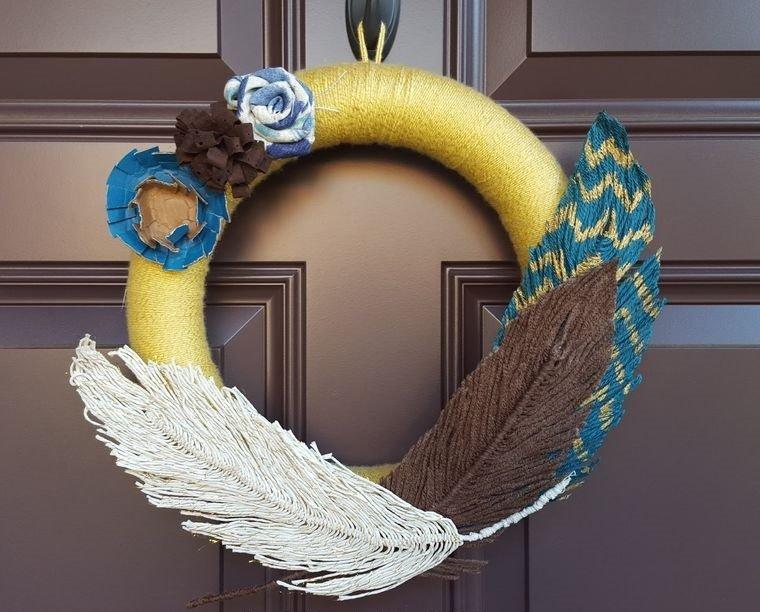corona hilo plumas