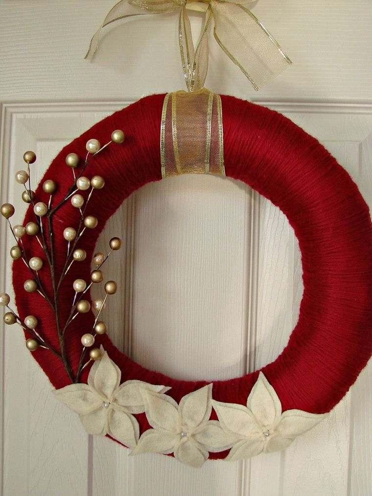corona hilo rojo