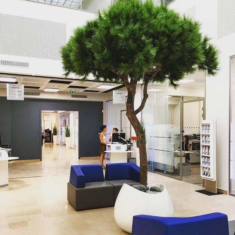 diseño de interiores con naturaleza