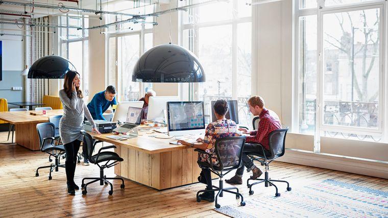 diseño de interiores empresa productiva