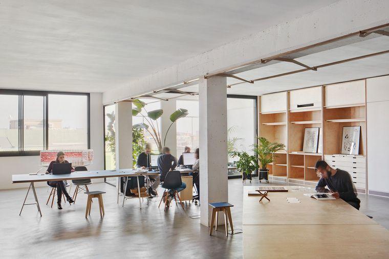 diseño de interiores lugar trabajo