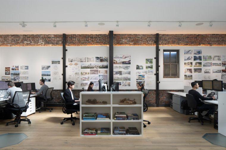 diseño de interiores oficinas abiertas