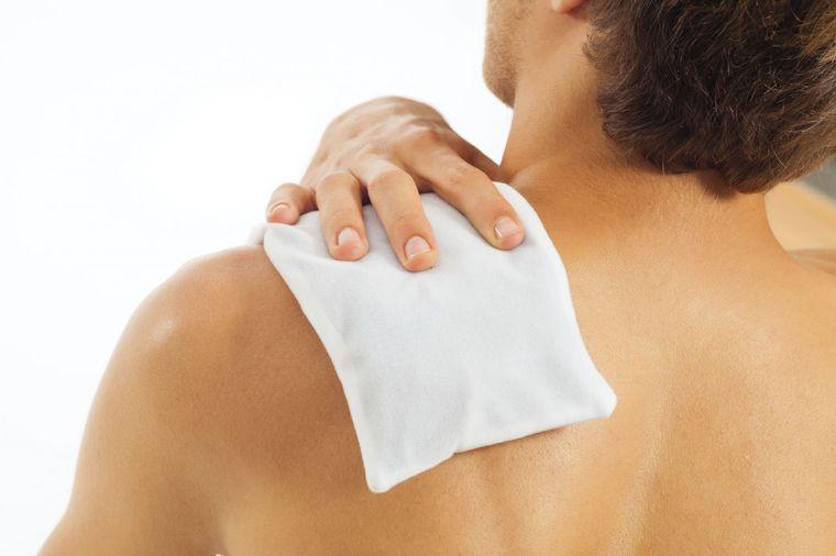 dolor muscular terapia caliente