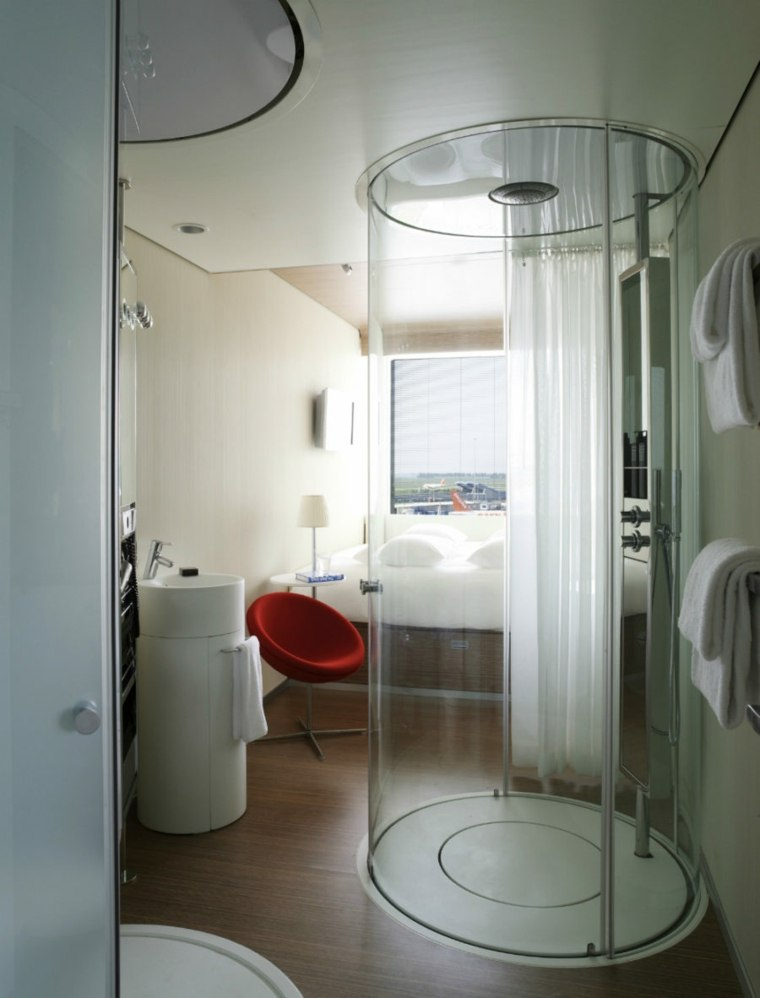 dormitorio-con-bano-forma-redonda