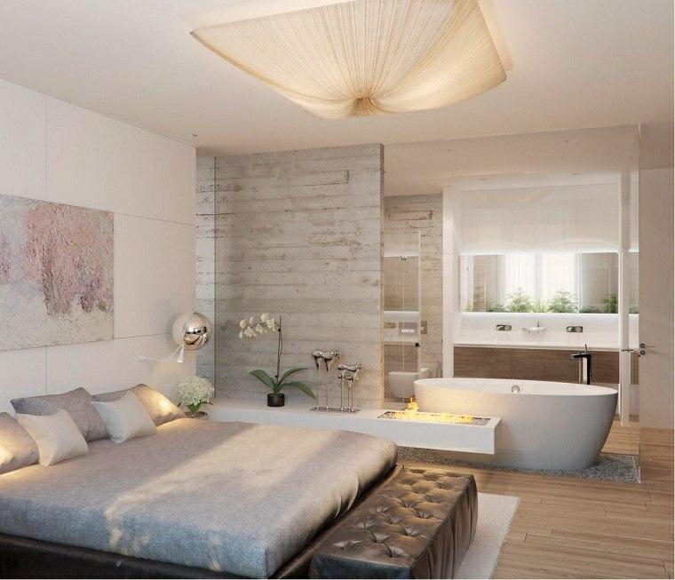 dormitorio con baño-combinacion-banera