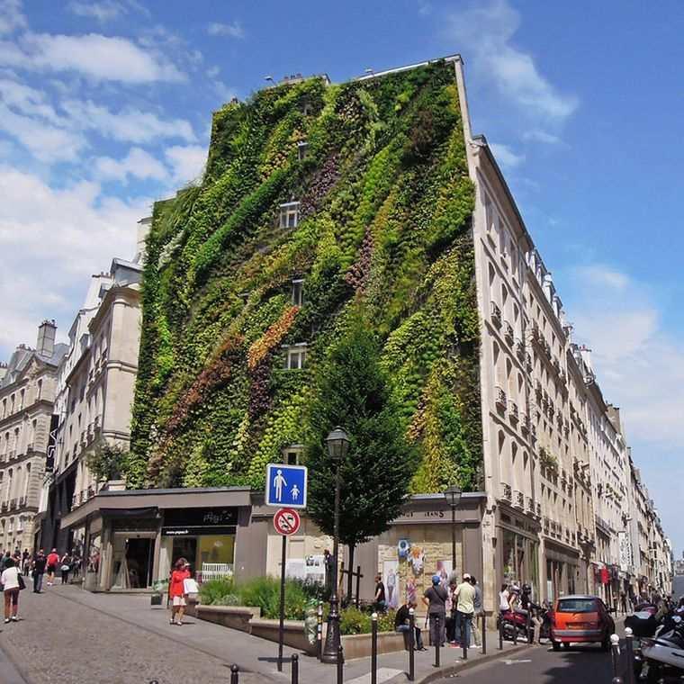 edificios ecológicos aboukir en paris