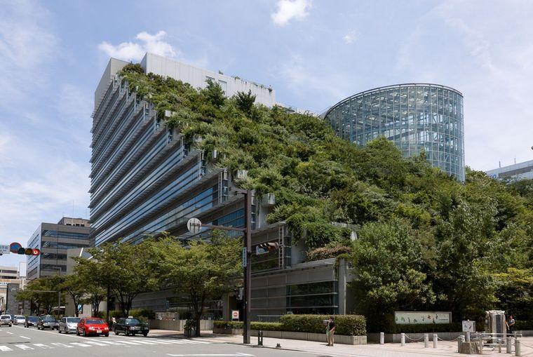 edificios ecológicos across japon