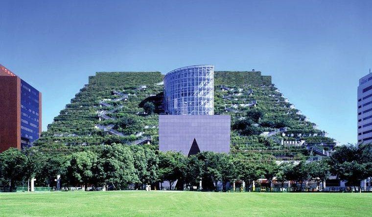 edificios ecológicos across
