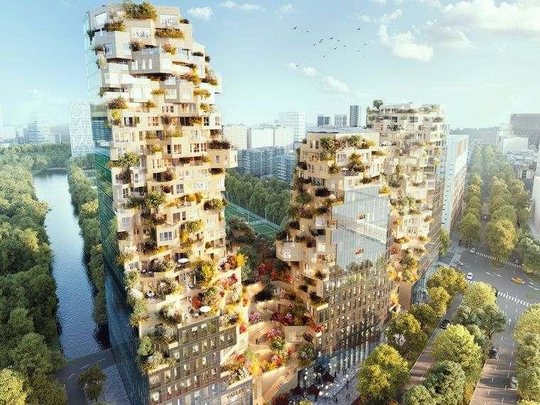 edificios ecológicos amsterdam