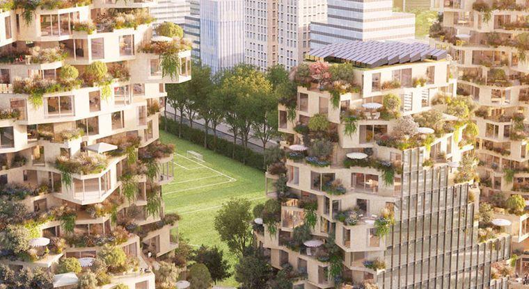 edificios ecológicos ciudad amsterdam