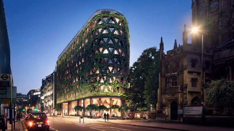 edificios ecológicos diseños