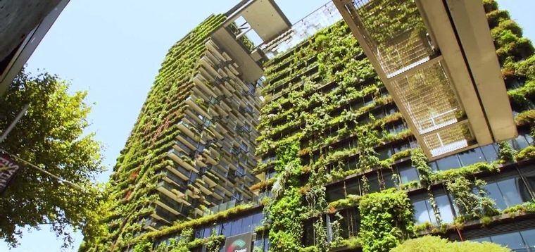 edificios ecológicos en ciudad sidney