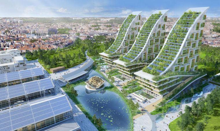 edificios ecológicos esplendidos
