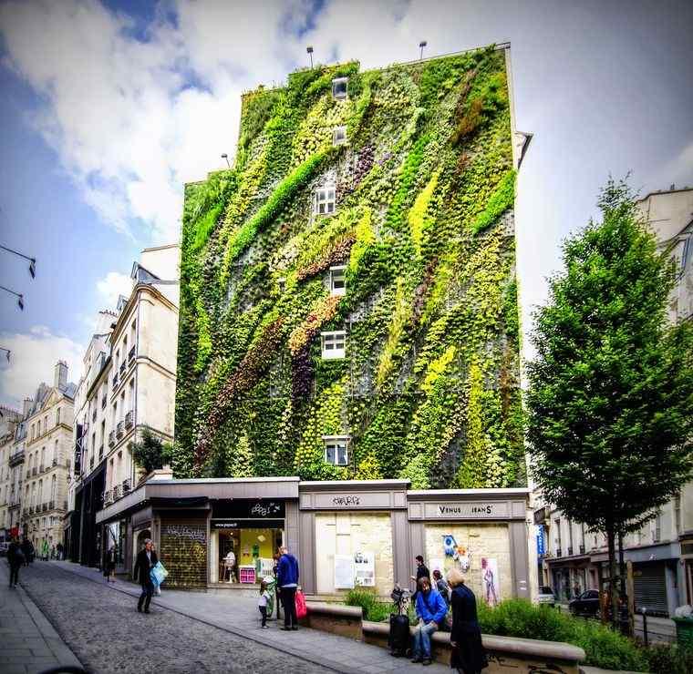 edificios ecológicos jardin aboukir