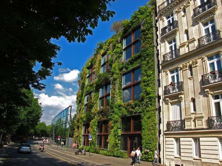 edificios ecológicos museo paris