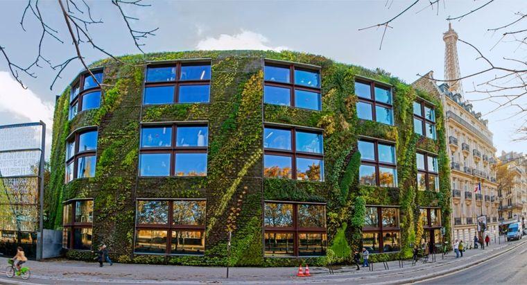 edificios ecológicos museo quai branly en paris