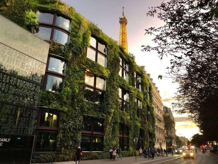 edificios ecológicos museo quai branly paris