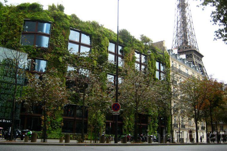 edificios ecológicos museo quai branly