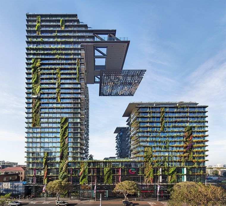 edificios ecológicos one central park sidney