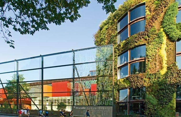 edificios ecológicos paris museo quai branly