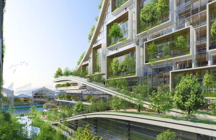 edificios ecológicos sostenibles