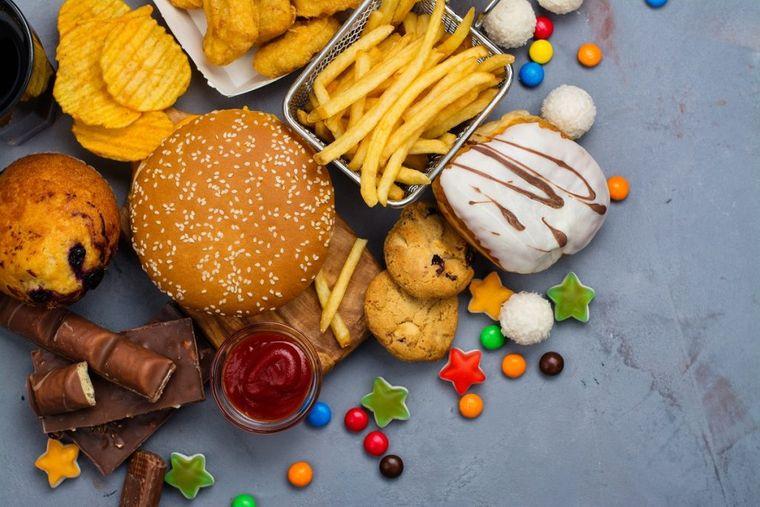 el azúcar alimentos procesados