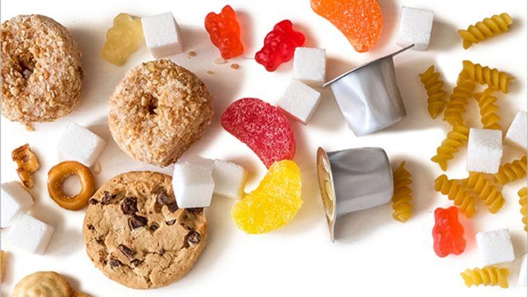 el azúcar en alimentos procesados