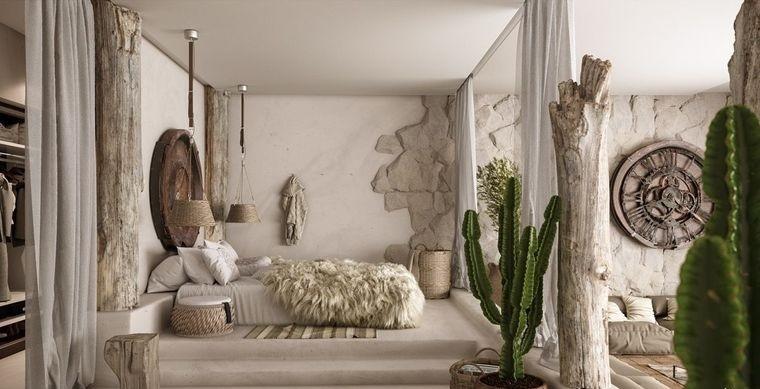 estilo mediterráneo decoracion rustica