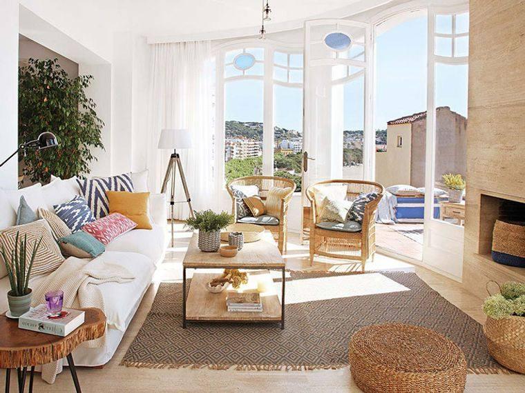 estilo mediterráneo muebles ratan