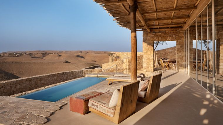 hoteles con encanto desierto israel