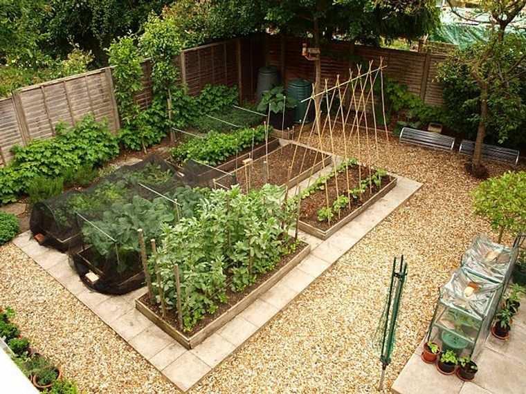 huerto ecológico jardin