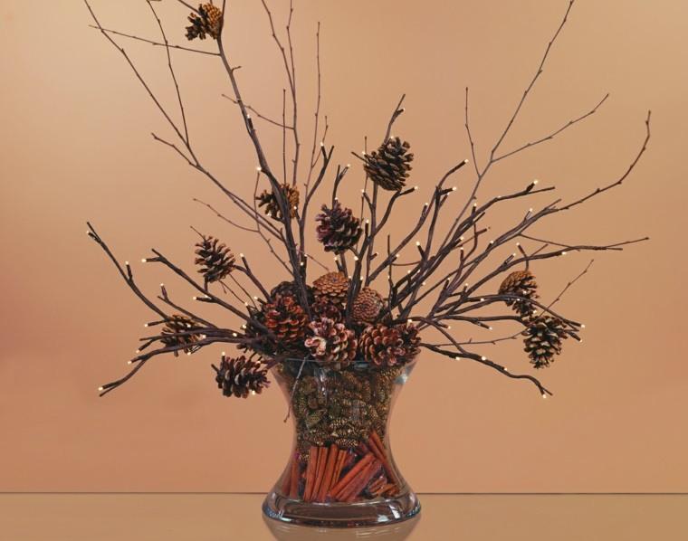 ideas creativas ramas con piñas